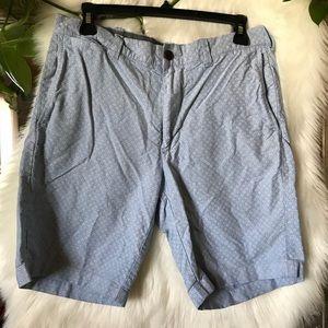 Sz 31 blue floral J. crew shorts